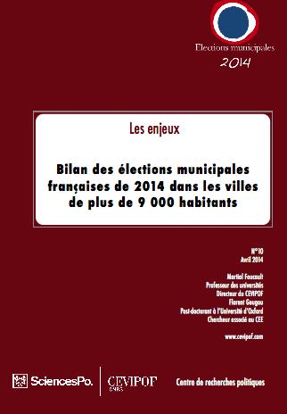 Bilan municipales CEVIPOF