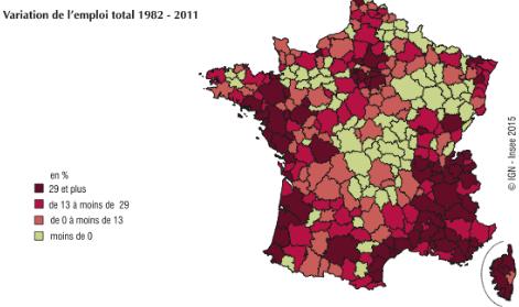 emploi en France 1